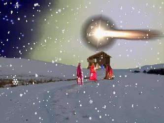 Christmas Postcard N.5 by MarziaGaggioli