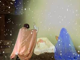 Nativity by MarziaGaggioli