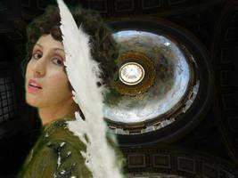 Angel In The Dark by MarziaGaggioli