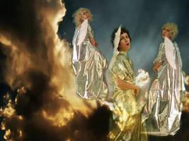 Three Angels Singing by MarziaGaggioli
