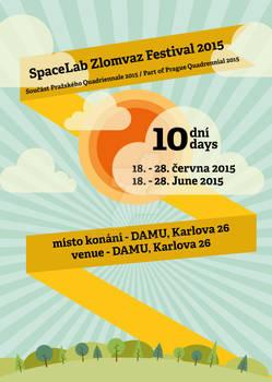 SpaceLab Zlomvaz Festival 2015 Poster