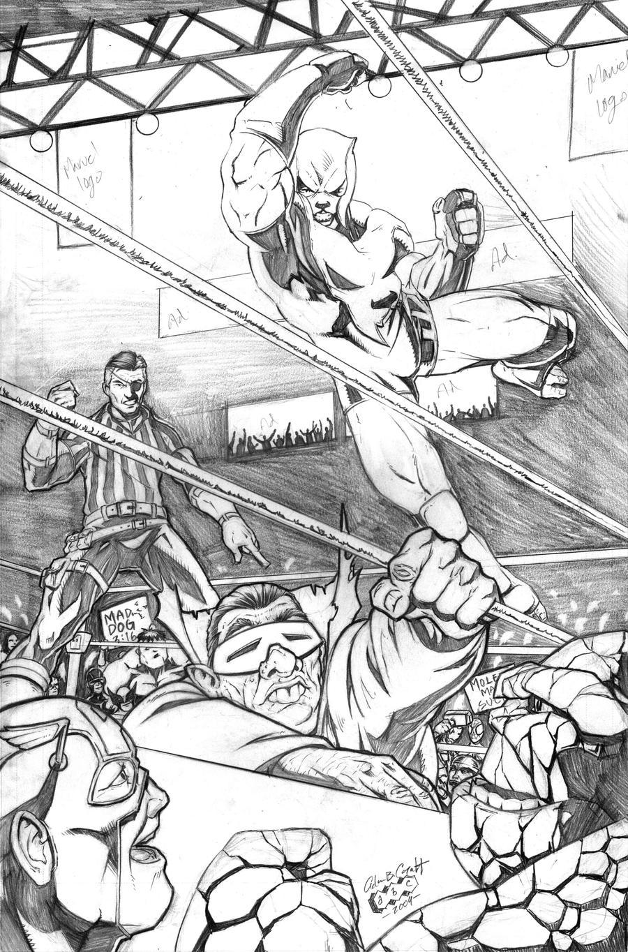 Mad Dog Wild Cat Marvel Comics