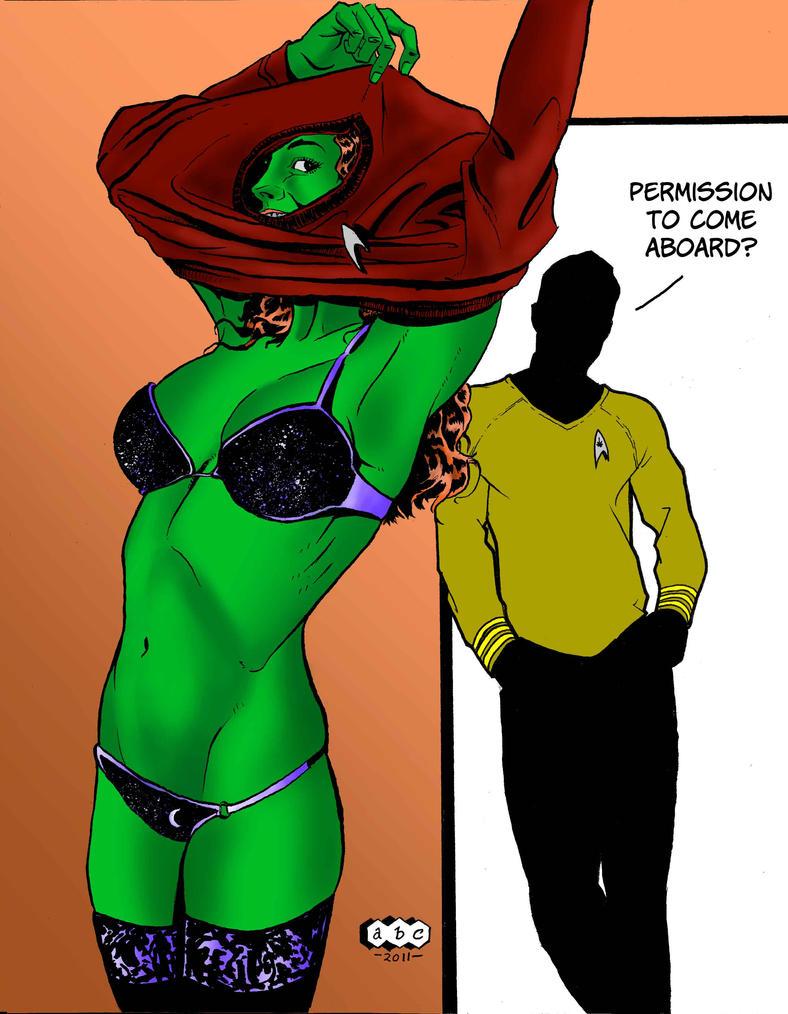 That Rascal Kirk by acarabet