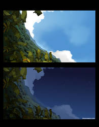 BG wakfu moon night and day