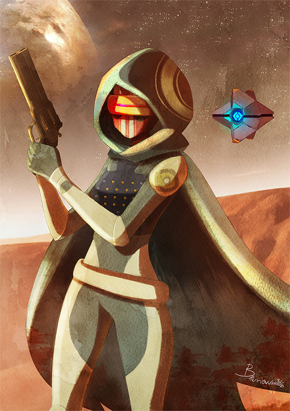Destiny Hunter by warobruno