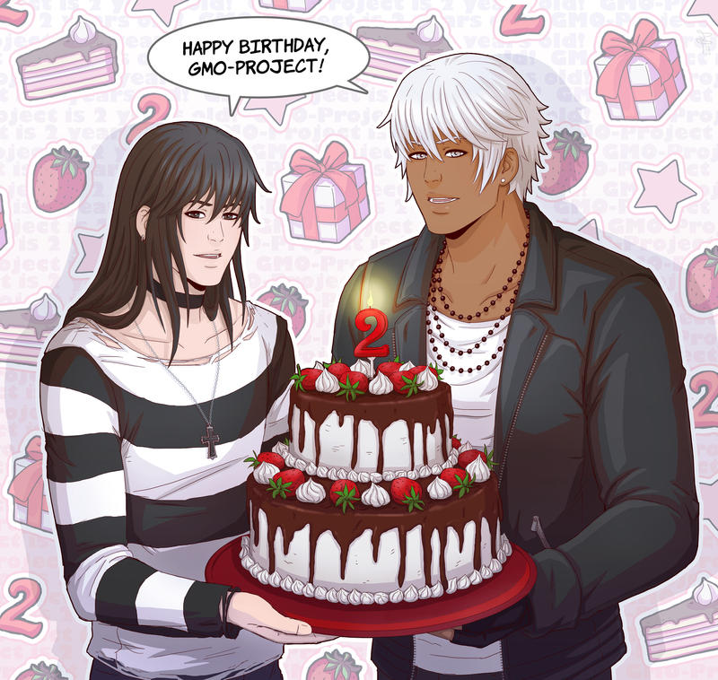 Happy Birthday ! by Rokkusan