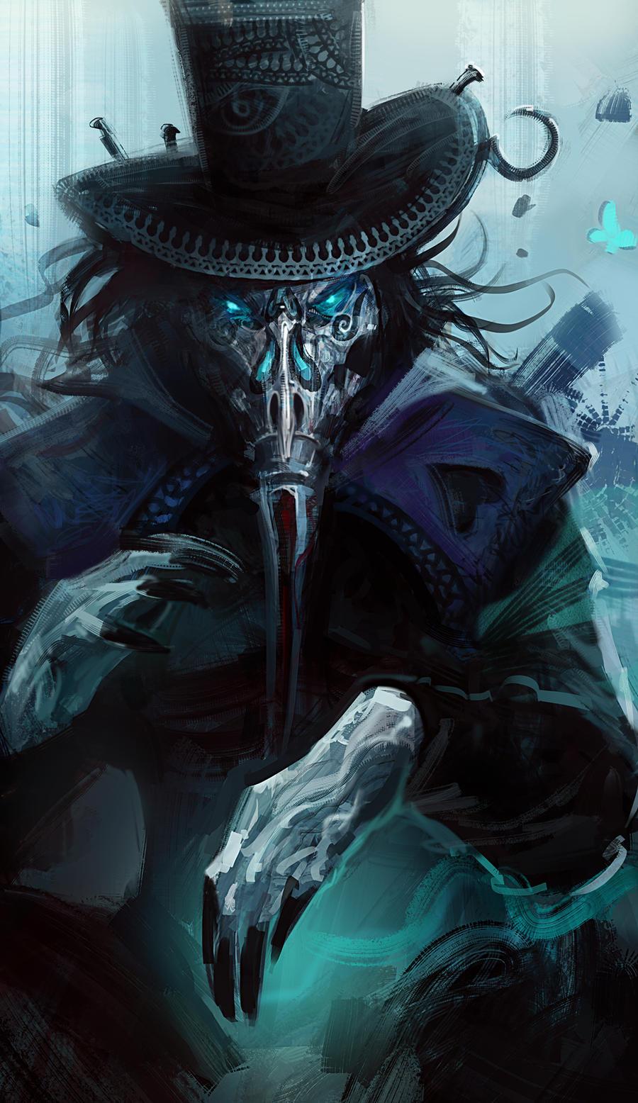 Ninox - Dark Magician by Guesscui on DeviantArt