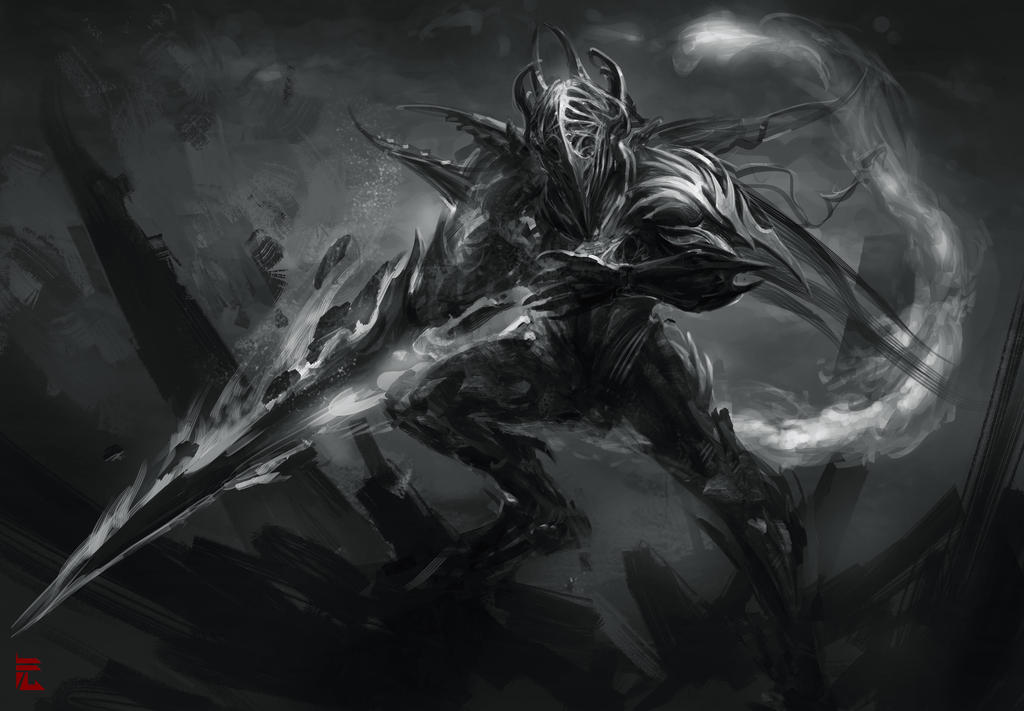 Soul Collector BW by Guesscui