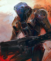 Robot Sketch by Guesscui