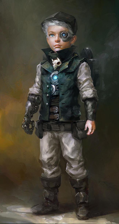 Steampunk Boy by Guesscui