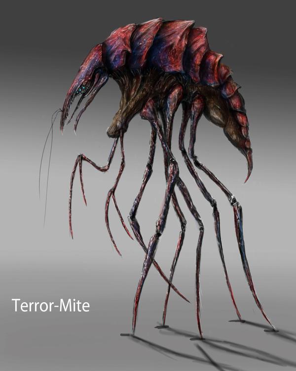 Terror-Mite by TGHarrison