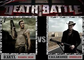 Death Battle: Daryl  v.s Tallahassee by MrLevelzGraffix