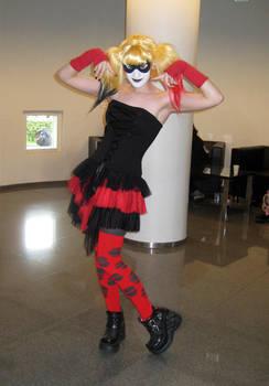 Tracon 7 2012: Harley Quinn cosplay