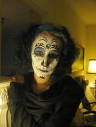Sugar skull makeup -ID