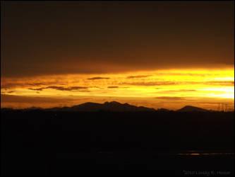 After Storm Sunset by tatsuyasaverem