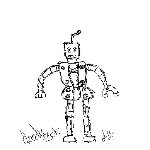 Doodle Bot by tatsuyasaverem