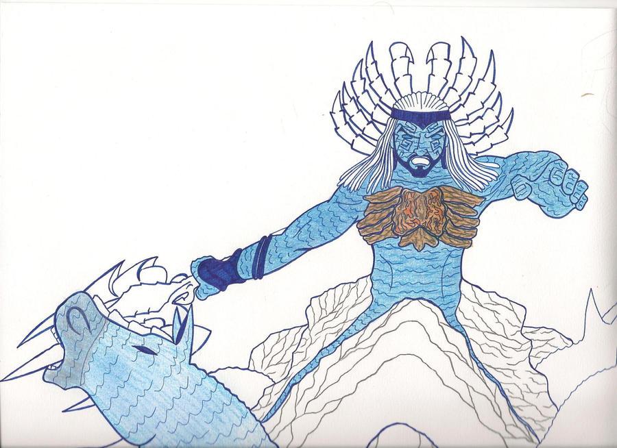 Poseidon GoW III by Guspf on DeviantArt