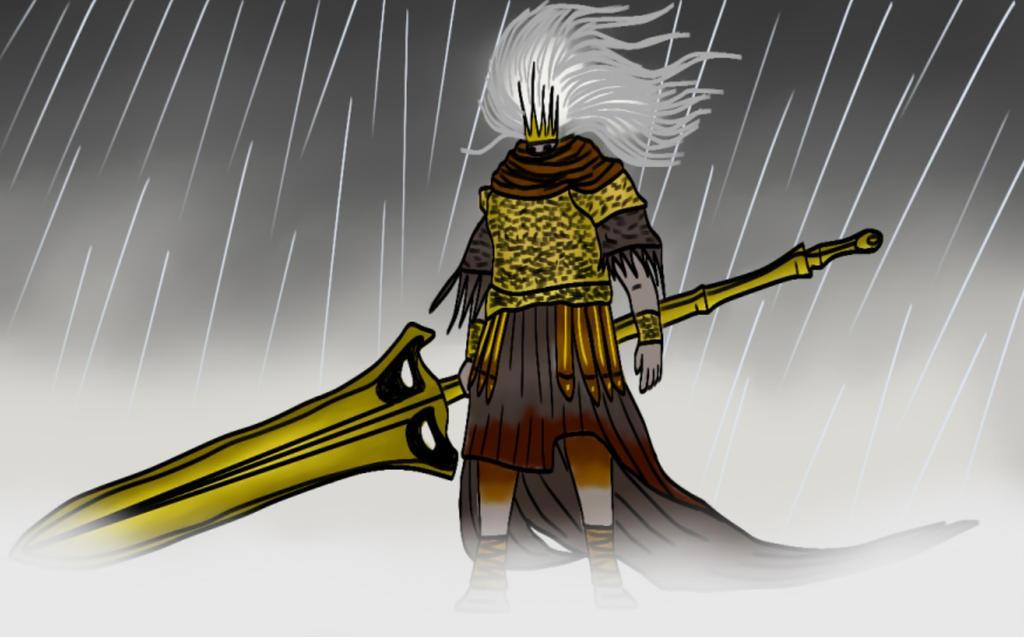 Nameless king - Dark Souls 3 by Guspf