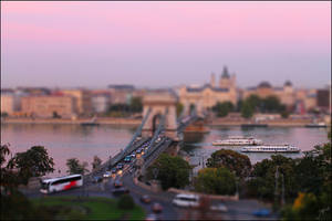 Budapest tilt shift by cat-a-flame