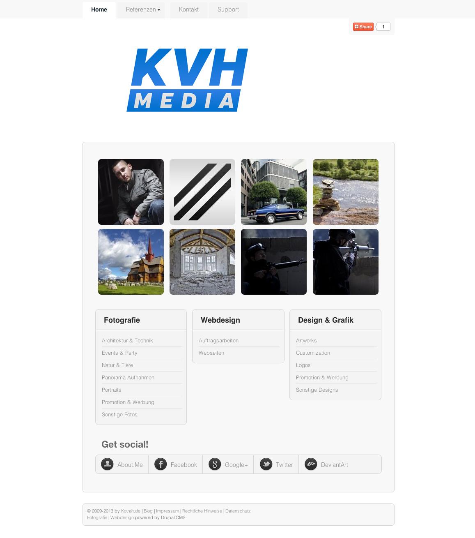 KVH Media - My Portfolio by theKovah