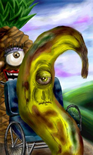 Old Banana by Holly-Toadstool