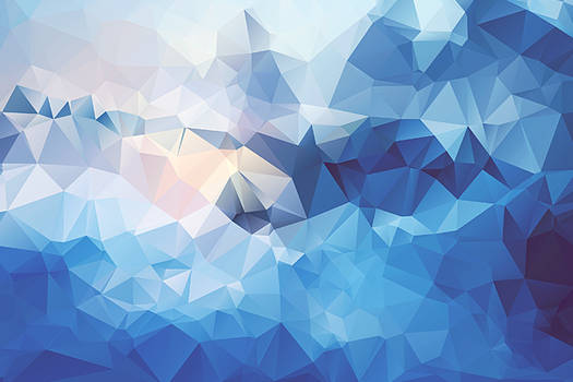 Free Polygonal / Low Poly Background Texture #2