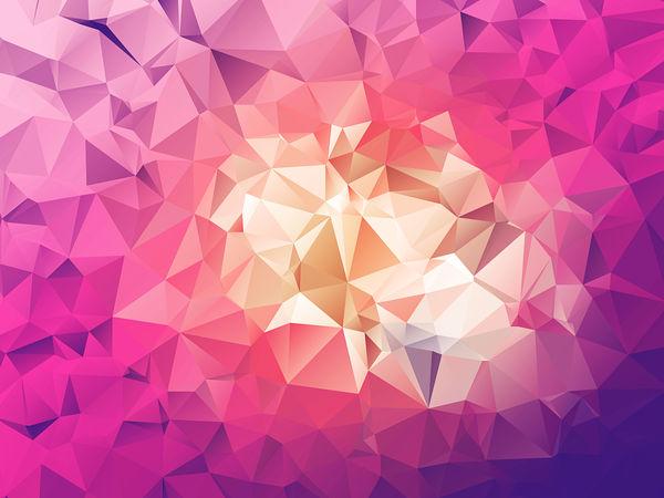 Free Polygonal / Low Poly Background Texture BONUS by RoundedHexagon