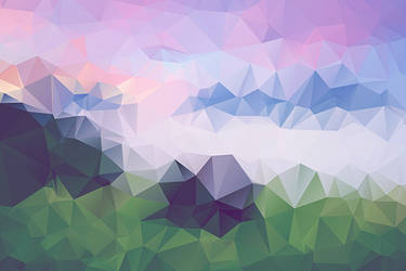 Free Polygonal / Low Poly Background Texture #1