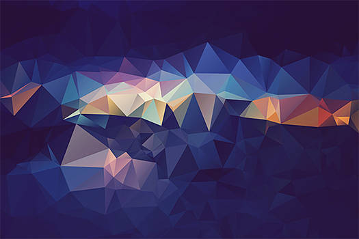 Free Polygonal / Low Poly Background Texture #5