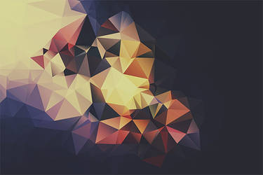 Free Polygonal / Low Poly Background Texture #7