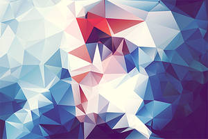 Free Polygonal / Low Poly Background Texture #9 by RoundedHexagon