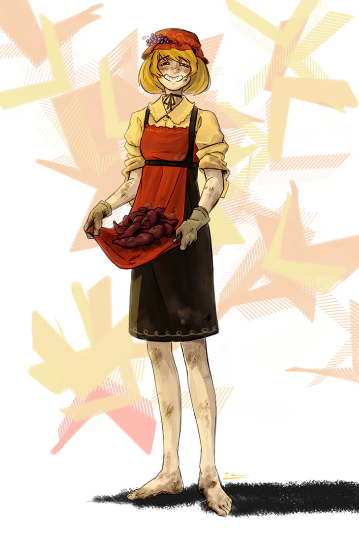 Minoriko's Harvest by Sano-Sen