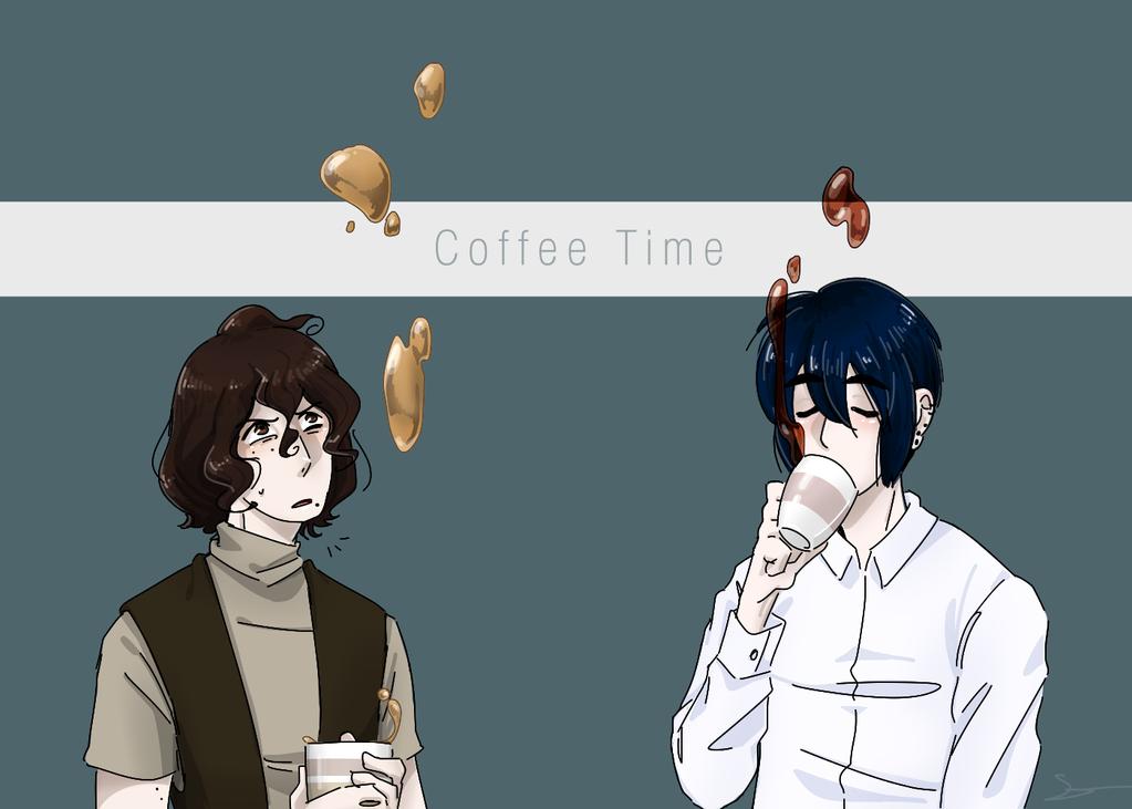 Coffee Time by Sano-Sen