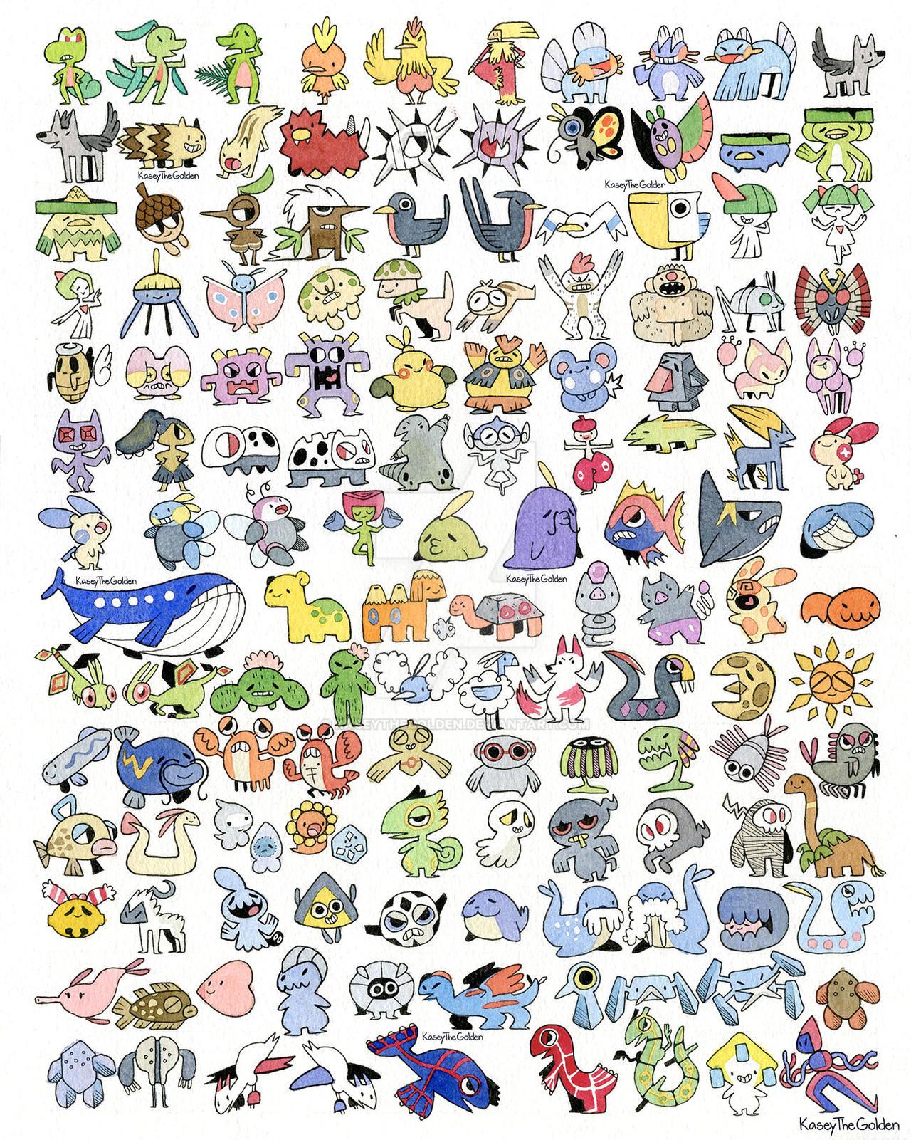 Pokemon 3 Generation