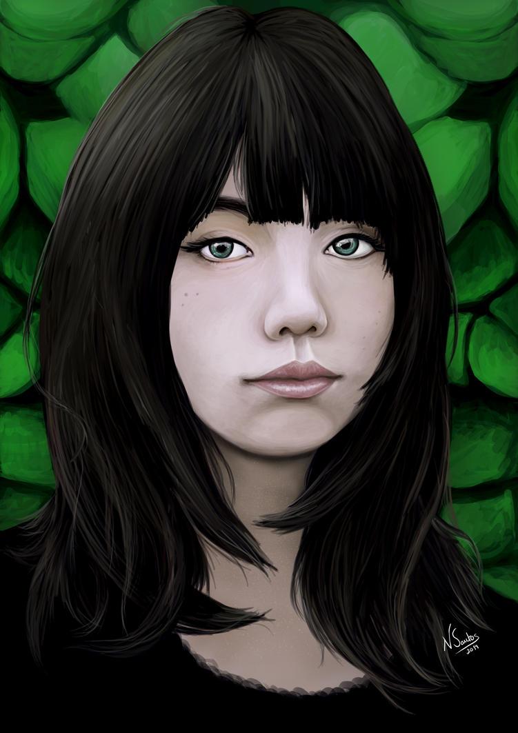 Asian Girl by NataliaSantos