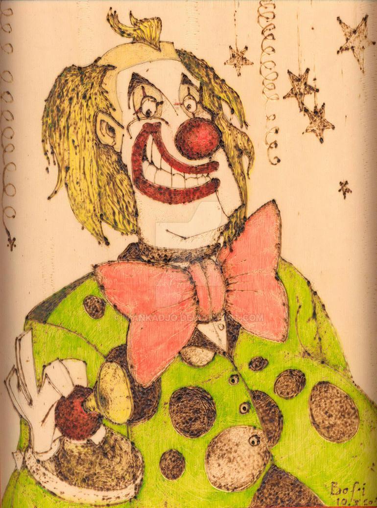 Clown by ivankadjo