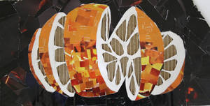 orange collage by prodigyleon