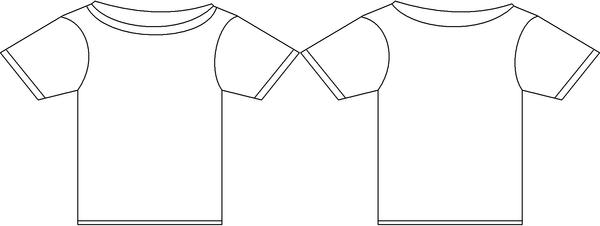 Line Drawing T Shirt : T shirt out line by marioblade on deviantart