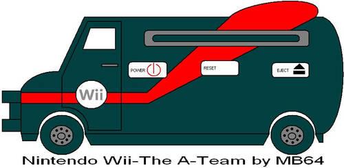 Nintendo Wii-The A-Team by MarioBlade64