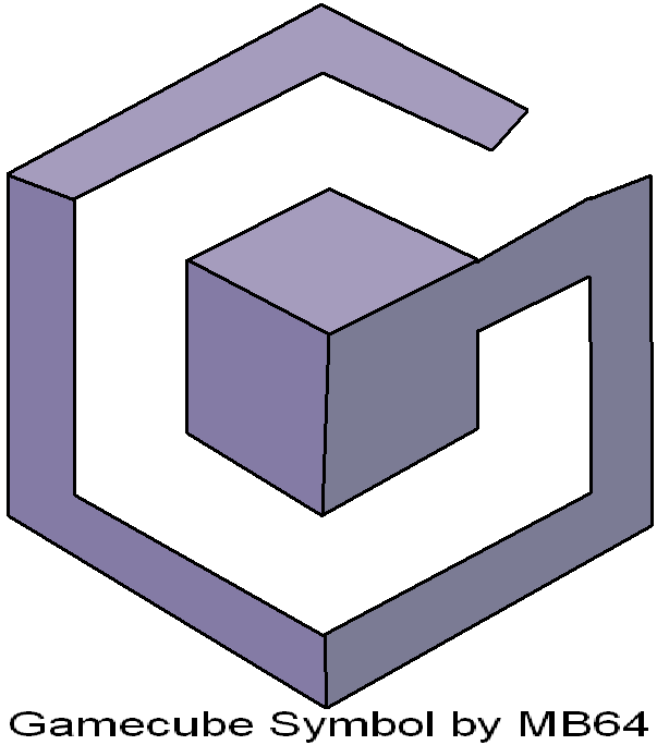 gamecube symbol by marioblade64 on deviantart