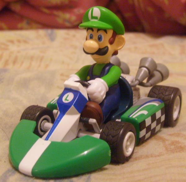 Mario Kart Wii Luigi By MarioBlade64