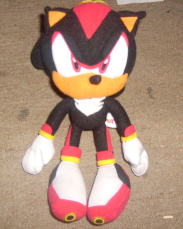 Shadow The Hedgehog Plush By Marioblade64 On Deviantart
