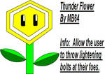 Thunder Flower by MarioBlade64