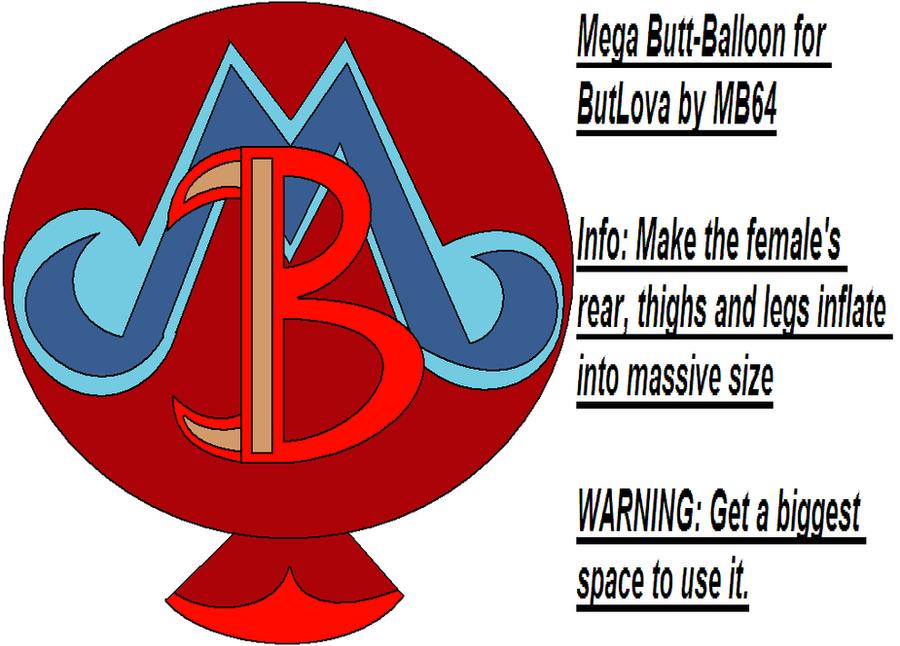 Butlova Gallery: Mega Butt-Balloon For ButLova By MarioBlade64 On DeviantART