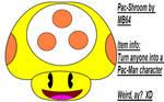 Pac-Shroom by MarioBlade64