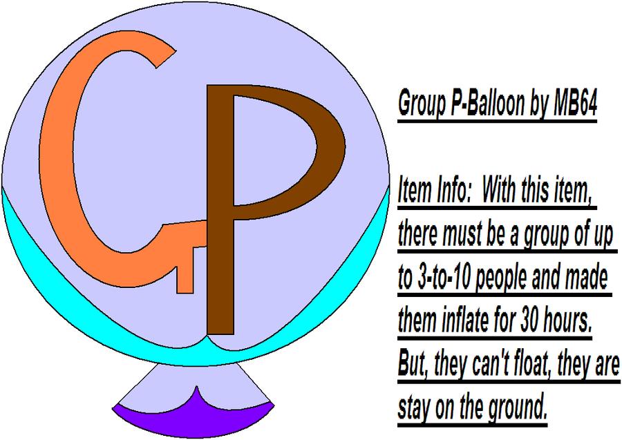 P Balloon: Group P-Balloon By MarioBlade64 On DeviantArt