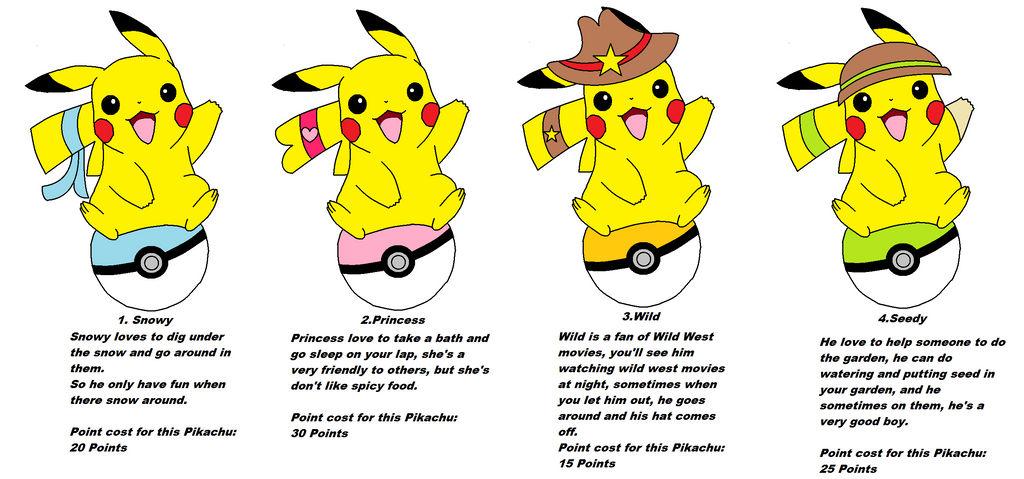 Pikasia's first Pikachu Adoption