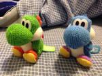 Yoshi's Woolly World Amiibo-Cute, huh? by MarioBlade64