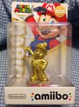 Gold Mario Amiibo by MarioBlade64