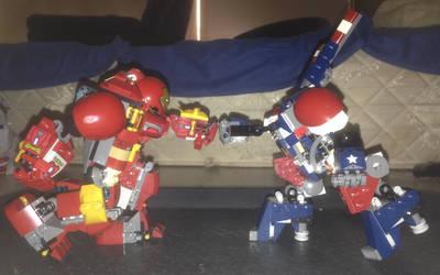 LEGO Robot Battle - Tony vs Justin by MarioBlade64